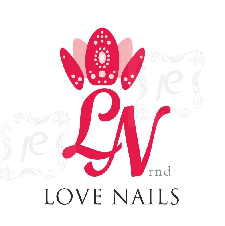 Love Nails rnd. Логотип. Дизайн